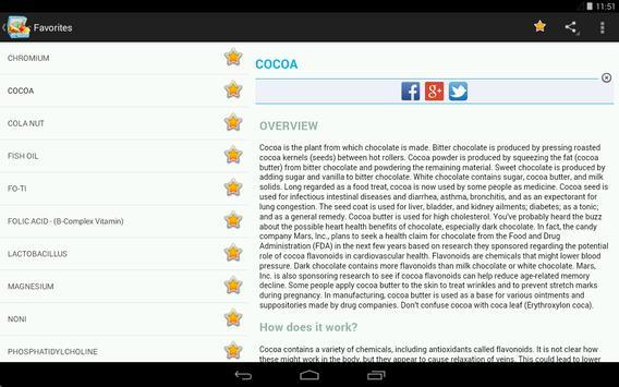 Vitamins, Minerals, Nutrients for immunity (Free) screenshot 12