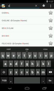 Vitamins, Minerals, Nutrients for immunity (Free) screenshot 2