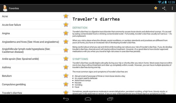 Diseases Dictionary screenshot 14