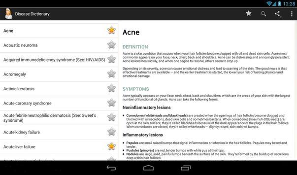 Diseases Dictionary screenshot 8