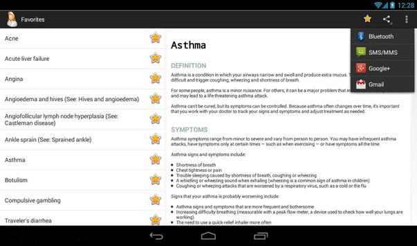 Diseases Dictionary screenshot 10