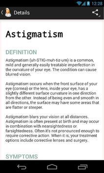 Diseases Dictionary screenshot 1