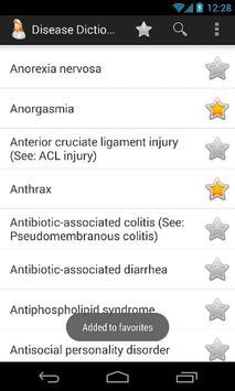 Diseases Dictionary screenshot 7