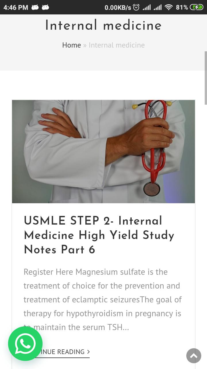 Medicalsupernotes- NEET PG USMLE MBBS FMGE DNB for Android - APK