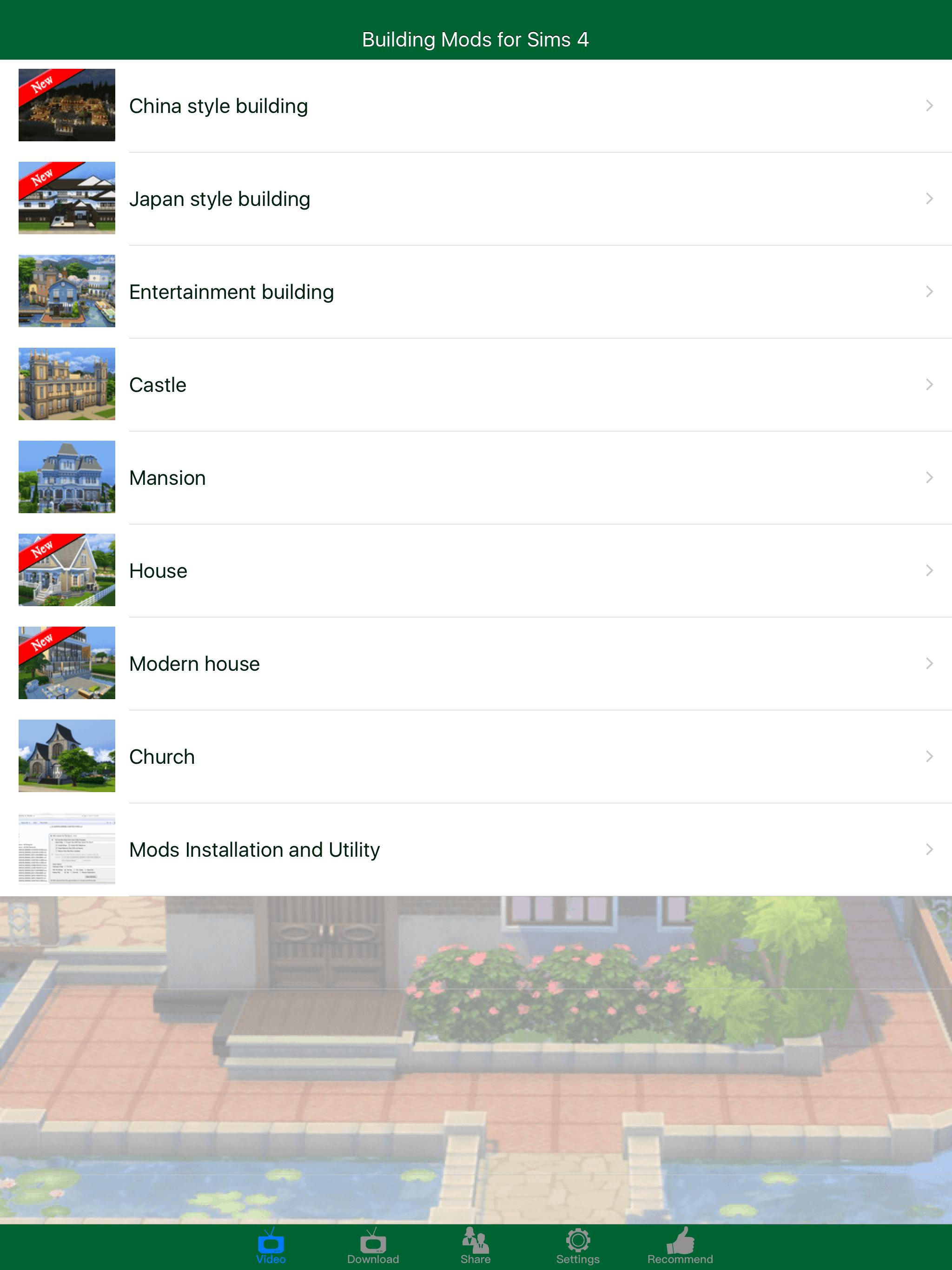 House Building Mods for Sims 4 (PC) for Android - APK Download