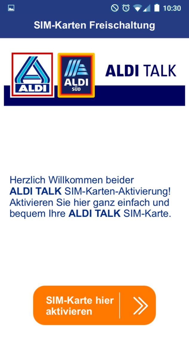 Aldi Sim Karte.Aldi Talk Aktivierung For Android Apk Download