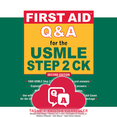 First Aid Q&A for the USMLE Step 2 CK-icoon