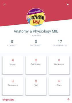 Anatomy & Physiology MIE NCLEX screenshot 8