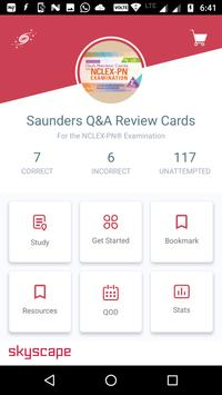 SAUNDERS Q&A REVIEW CARDS FOR NCLEX-PN® EXAM poster
