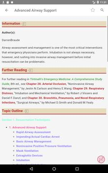 Tintinalli's Emergency Medicine Manual App تصوير الشاشة 15