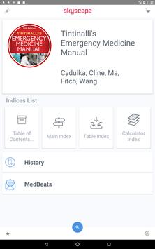 Tintinalli's Emergency Medicine Manual App تصوير الشاشة 5