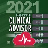 """Ferri's Clinical Advisor """"5 books in 1"""" format App simgesi"""