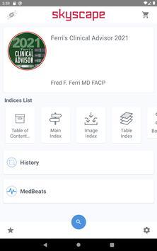 """Ferri's Clinical Advisor """"5 books in 1"""" format App Ekran Görüntüsü 14"""