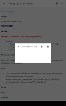 5 Minute Anesthesia Consult - 480 Distinct Topics screenshot 18