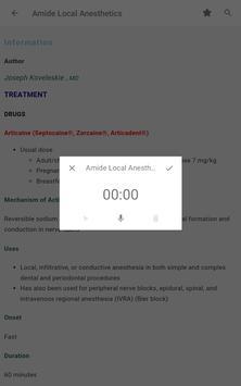 5 Minute Anesthesia Consult - 480 Distinct Topics screenshot 19
