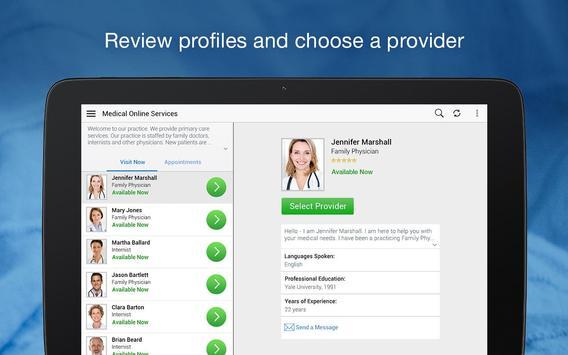 MedStar eVisit - See a provider 24/7 скриншот 10