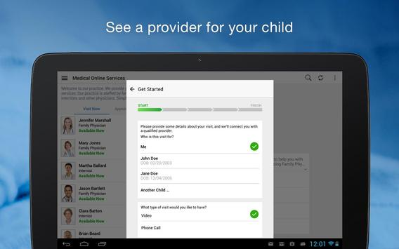 MedStar eVisit - See a provider 24/7 Ekran Görüntüsü 8