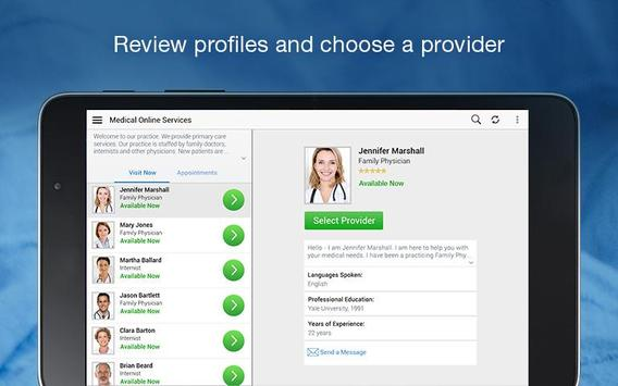MedStar eVisit - See a provider 24/7 Ekran Görüntüsü 10