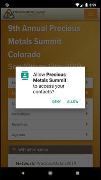 Precious Metals Summit screenshot 1