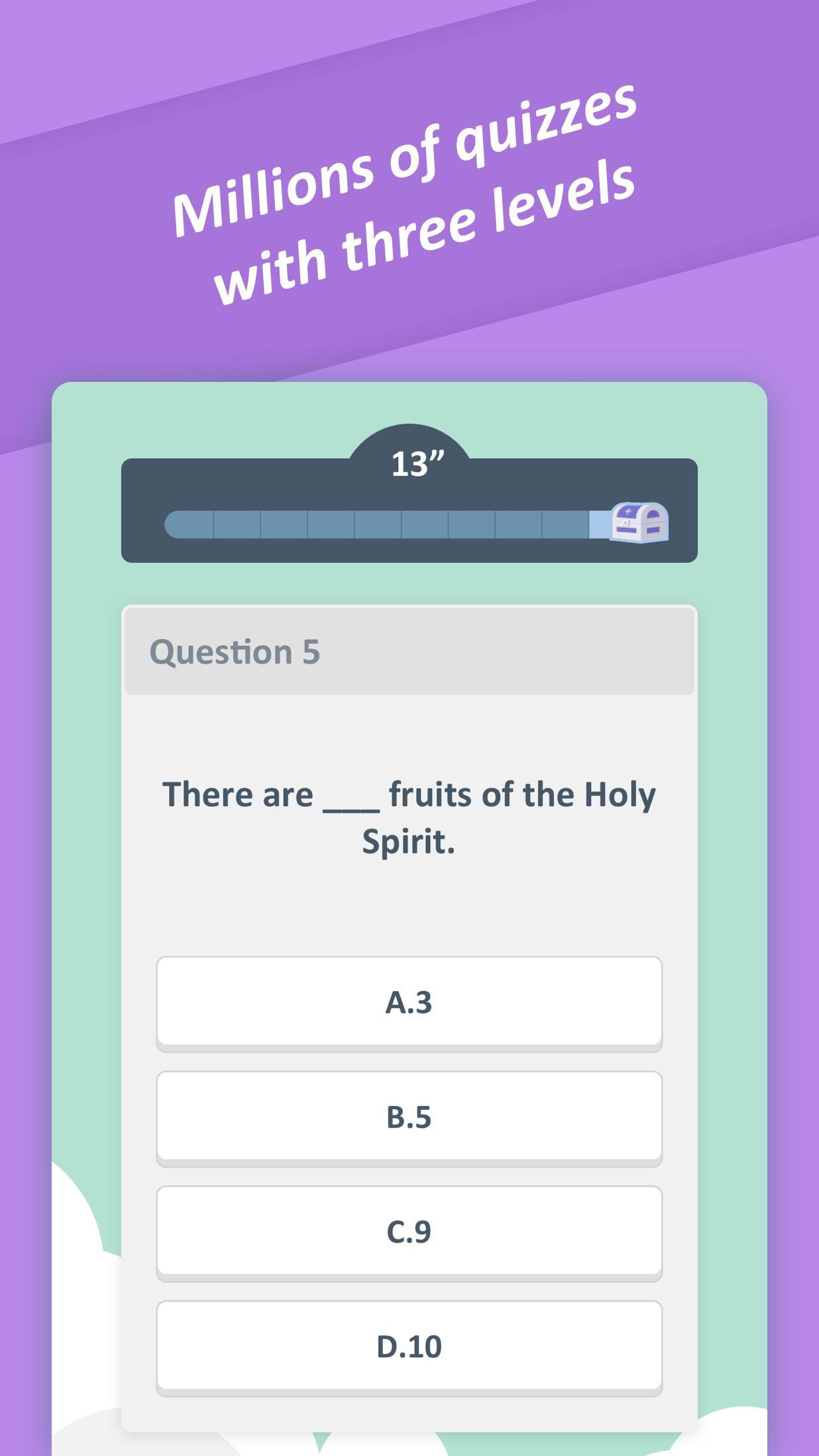 Bible Trivia Quiz - Free Bible Game for Android - APK Download