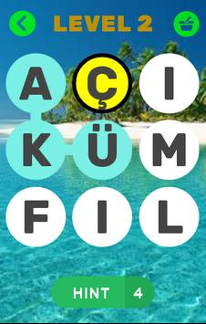 Eğlenceli Kelime Oyun Bulmaca poster