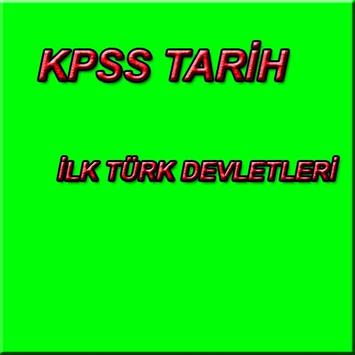 KPSS TARİH İLK TÜRKLER poster