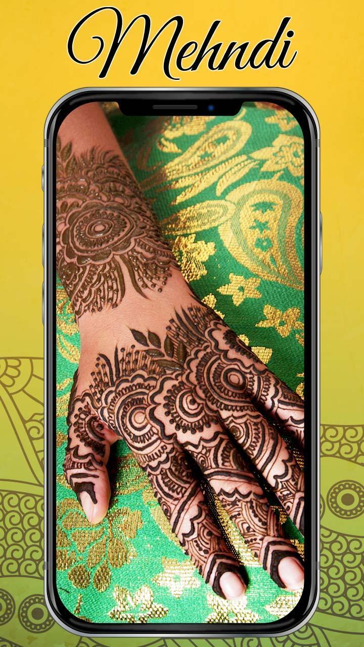 Mehndi Design Hd Wallpaper 4k Ultra Hd For Android Apk Download