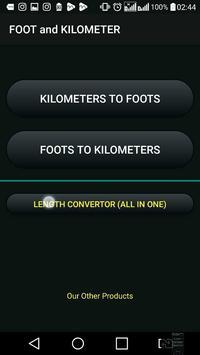 Kilometer and Foot (km & ft) Convertor screenshot 4