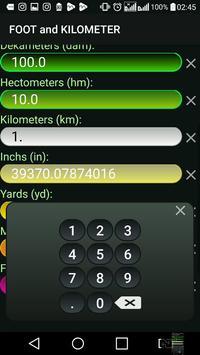 Kilometer and Foot (km & ft) Convertor screenshot 6