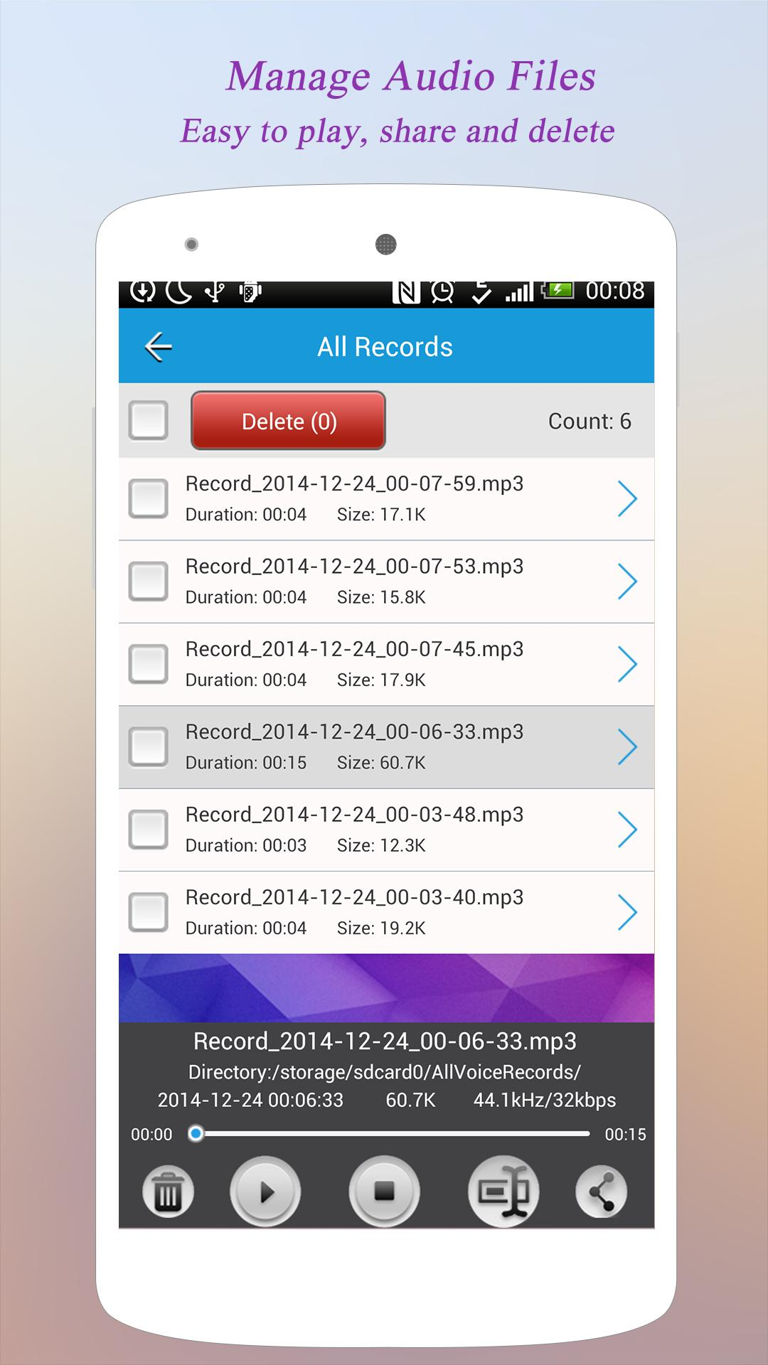 Super Voice Recorder For Android Apk Download