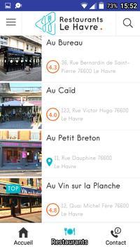 Restaurants LH screenshot 2