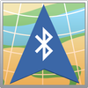 GPS Bluetooth Saída ícone