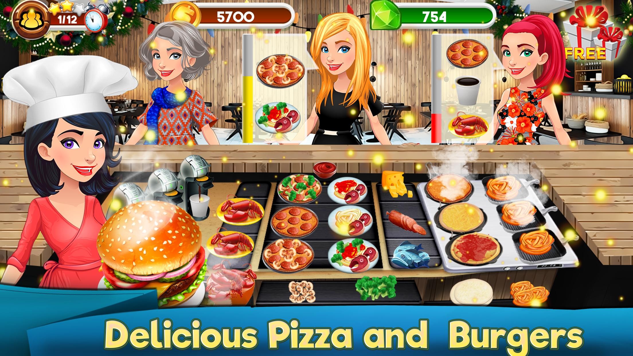 Game Memasak Restoran Burger Craze Pizza Sushi For Android Apk Download