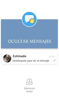 Privacy Messenger-Texto protegido,SMS, Call Screen captura de pantalla 7