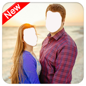 Love In Couple Photo Suit icon
