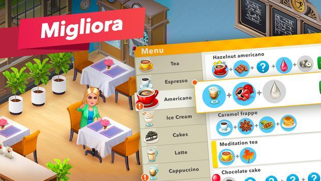 3 Schermata La mia caffetteria — Gioco del ristorante