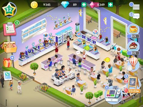 14 Schermata La mia caffetteria — Gioco del ristorante