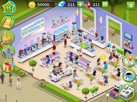 17 Schermata La mia caffetteria — Gioco del ristorante
