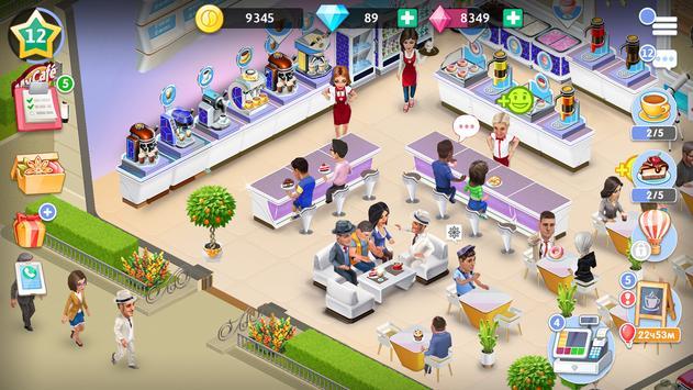 4 Schermata La mia caffetteria — Gioco del ristorante