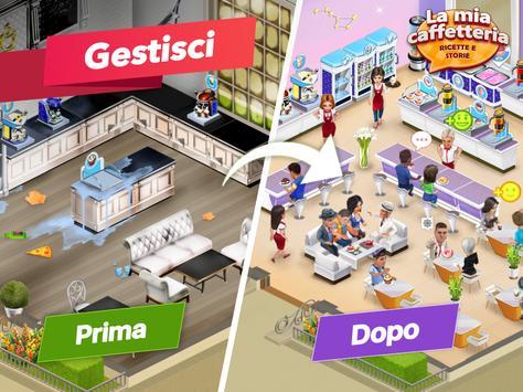 11 Schermata La mia caffetteria — Gioco del ristorante