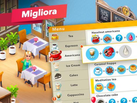 9 Schermata La mia caffetteria — Gioco del ristorante