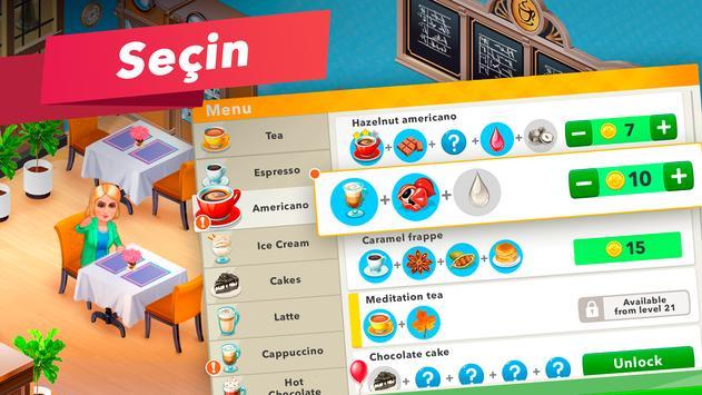 Kafem — Restoran Oyunu Ekran Görüntüsü 3