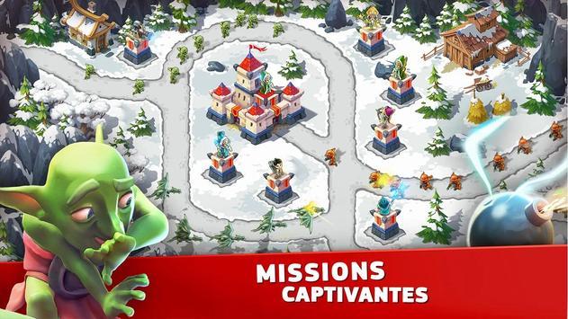 Toy Defense Fantasy — Tower Defense Game capture d'écran 2