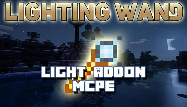 Addon Light For Minecraft poster