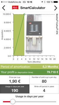 Melitta SmartCalculator screenshot 1