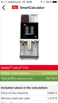 Melitta SmartCalculator screenshot 2