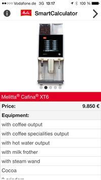 Melitta SmartCalculator screenshot 3