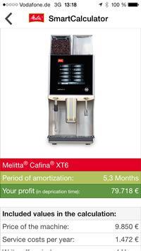 Melitta SmartCalculator screenshot 5
