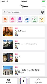 Memo-App - share with friends screenshot 1