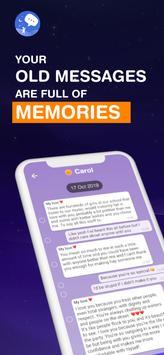 Text Vibes: Scrapbook Chat Messages and Memories Cartaz